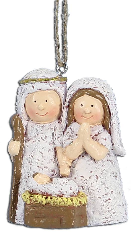 "2.5"" Holy Family Ornament 2.5"" Holy Family Ornament, NATIVITY ORNAMENT, KIDDIE RELIGIOUS ORNAMENT, KIDS RELIGIOUS CHRISTMAS ORNAMENT, KIDS ORNAMENT FOR CHRISTMAS, RELIGOUS ORNAMENT"
