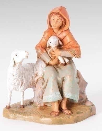 "5"" Fontanini Nahome Figure figure, 5"" figure, fontanini, christmas gift, christmas set, collection figures , nativity figures, open stock figures, 57520"