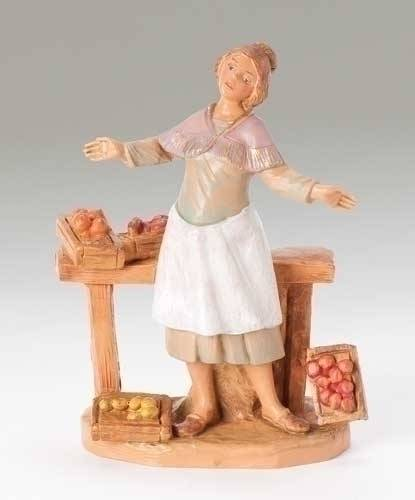 "5"" Fontanini Zofia Figure figure, 5"" figure, fontanini, christmas gift, christmas set, collection figures , nativity figures, open stock figures, 54053"
