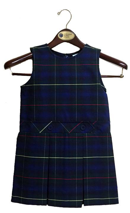#55 Drop Waist Uniform Jumper 55 plaid jumper, 19455 plaid jumper, 19455, 19455 jumper, 55 plaid, #55 plaid, drop waist jumper, plaid school uniform jumper, plaid jumper, school uniform jumper, school uniform dress, plaid dress