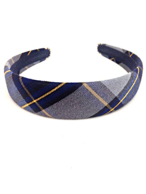 Padded Headband, Plaid #57