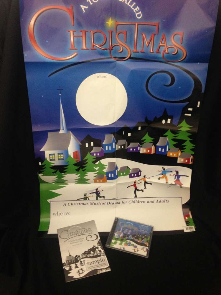 %27A Town Called Christmas%27 Musical Drama musical, holiday musical, play, christmas play, christmas production, holiday play, childrens play,0570074118