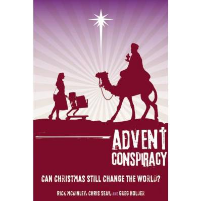Advent Conspiracy: Can Christmas Still Change the World? advent books, books, prayer book, preparation books, christmas book, seasonal book, advent stories, 9780310324522, 978-0-31032-452-2