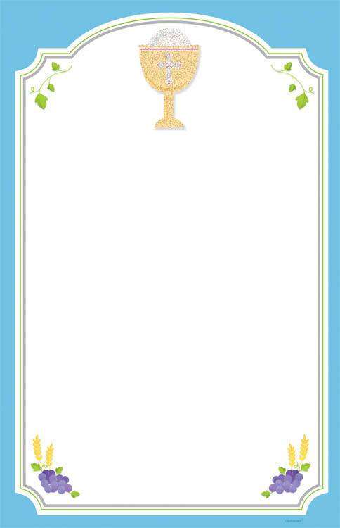 Blue First Communion Invitations 490000,first communion partyware, blue partyware, boy first communion , boy first communion party, first communion party, paper products, blue first communion invitations, blue invitations, boy invitations