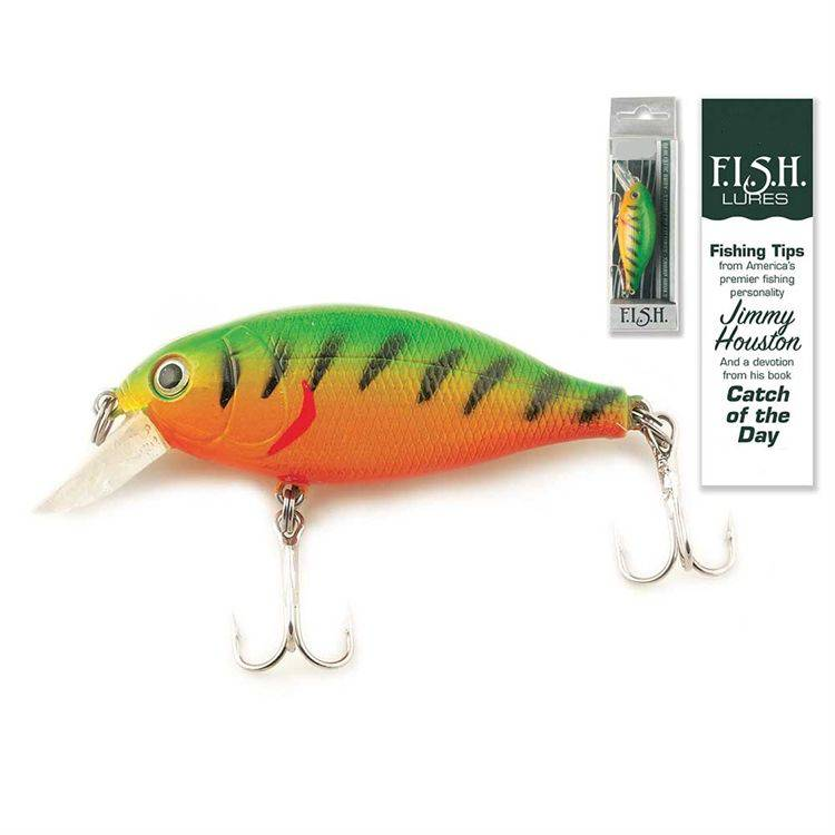 Catch of the Day Lure-Mid Diver Firetiger fish lure, fisherman gift, hunter gift, specialty gift, devotion gift, catch of the day find invite share help, camping trip, fl-5