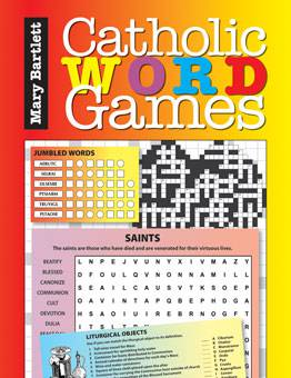Catholic Word Games word games, word search, word maze, word puzzle, kids book, teachers resource, family games, parents choice,