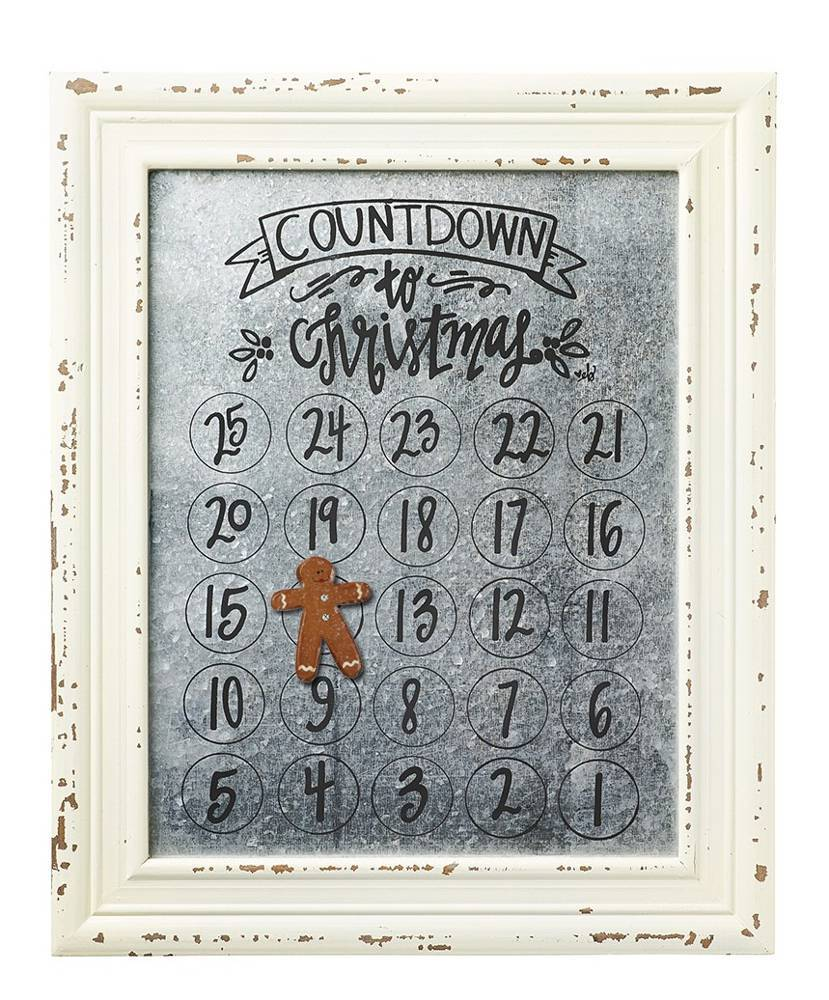 Countdown to Christmas Magnetic Calendar *WHILE SUPPLIES LAST* cmas15b, advent calendar, magnetic advent calendar, altered state advent calendar, altered state countdown to christmas calendar, altered state calendar, magnetic advent calendar, magnetic countdown to christmas calendar