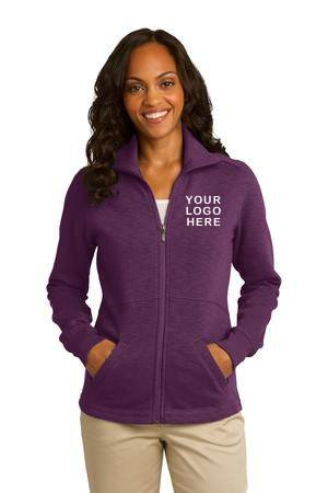Custom Slub Fleece Ladies Full Zip Jacket spirit wear, spiritwear, school spirit gear, school bookstore items, school accessories, custom school spiritwear, custom school gift items, custom school spirit wear