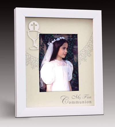 First Communion Shadow Box Frame first communion frame, matte frame, shadow box frame, first communion gift, holy eucharist gift,48240