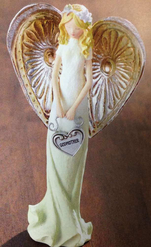 Godmother Angel Figurine angel figure, angel statue standing angel, gift, home decor, 463711, godmother