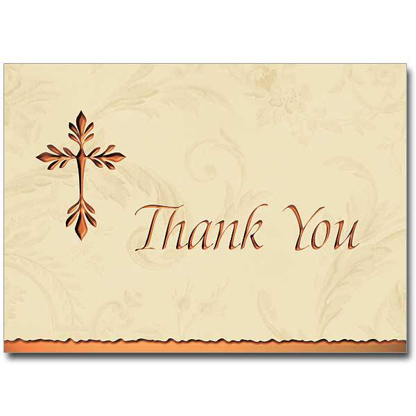 Gold Foiled Boxed Thank You Cards, Pkg/12 thank you notes, note cards, notecards