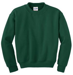 Crewneck Sweatshirt, Hunter Green