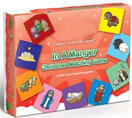 *DISC*%27In A Manger%27  Christmas Matching Game *WHILE SUPPLIES LAST* christmas gift, childrens gift, matching game, board game, christmas game, 4307, QUANTITY DISCOUNT, QTY DISCOUNT