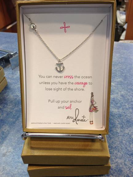 Inspirational Anchor Necklace