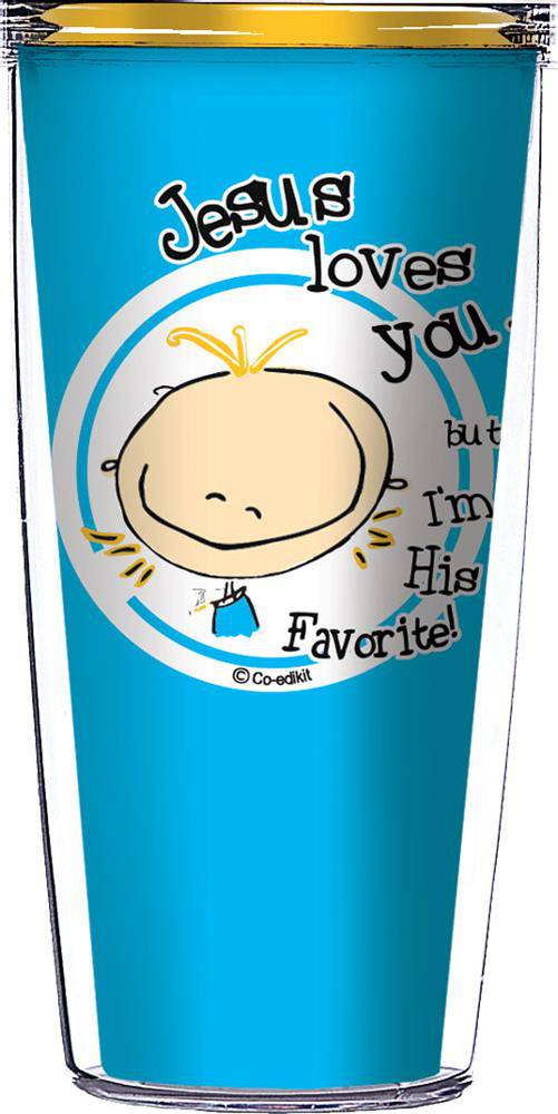 Jesus Love You Insulated 16oz. Tumbler