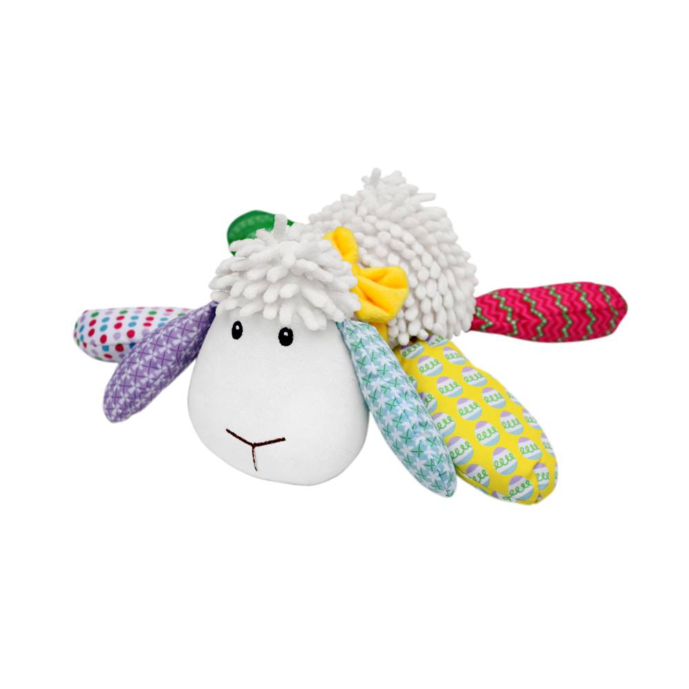 Lily the Easter Lamb Lil Prayer Buddy huggybuddy, stuffed toy, lamb toy, stuffed animal,plush animal, toy, girl, boy, baptism gift, new baby gift,w201504
