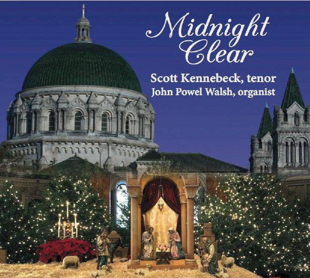 Midnight Clear Christmas CD holiday music, christmas cd, christmas music, church music, scott kennebeck, cator music, christmas gift, holiday gift,