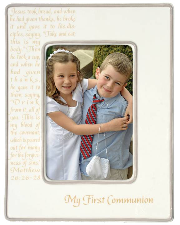 My First Communion Frame sacramental frame, white frame, holy communion, 1st communion, first communion, porcelain, 4047226