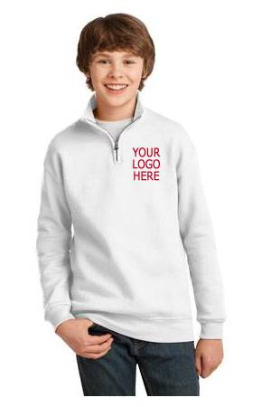 Custom Quarter-Zip Sweatshirt spirit wear, spiritwear, school spirit gear, school hoodie, school pullover, school sweatshirt, school bookstore items, school accessories, custom school spiritwear, custom school gift items, custom school spirit wear