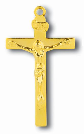 Rosary Crucifix rosary crucifix, nickel plated, goldtone, 2122-07, rosary, crucifix pendant,quantity discounts,