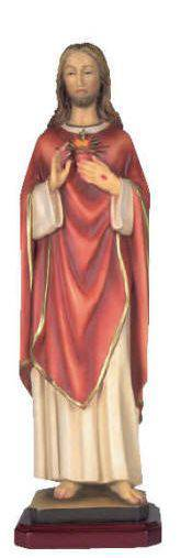 Sacred Heart of Jesus Statue sacred heart statue, jesus statue, patron and protectors, resin statue, home decor,  church decor,21DC8