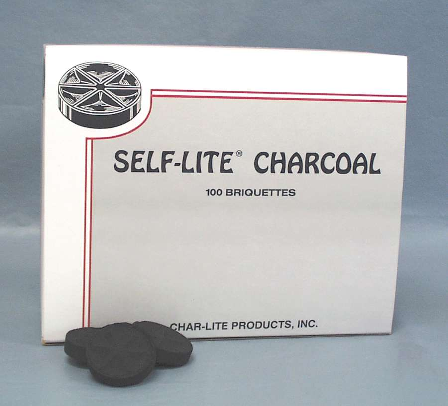 Self-Lite® Charcoal charcoal, self-lite, incense,