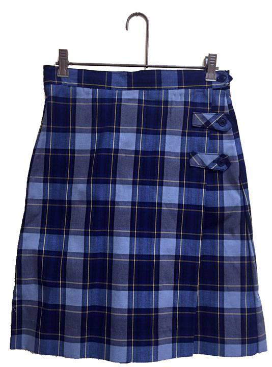 St. Francis Borgia H.S. Uniform Culotte 14857, 4857 skirt, 48 style skirt, #57 plaid, 57 uniform plaid skirt, 57 uniform plaid, girls plaid uniform skirt, culotte, skort, skirt with shorts