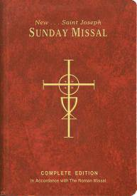 St. Joseph Sunday Missal missal, annual, church liturgy, 820/09