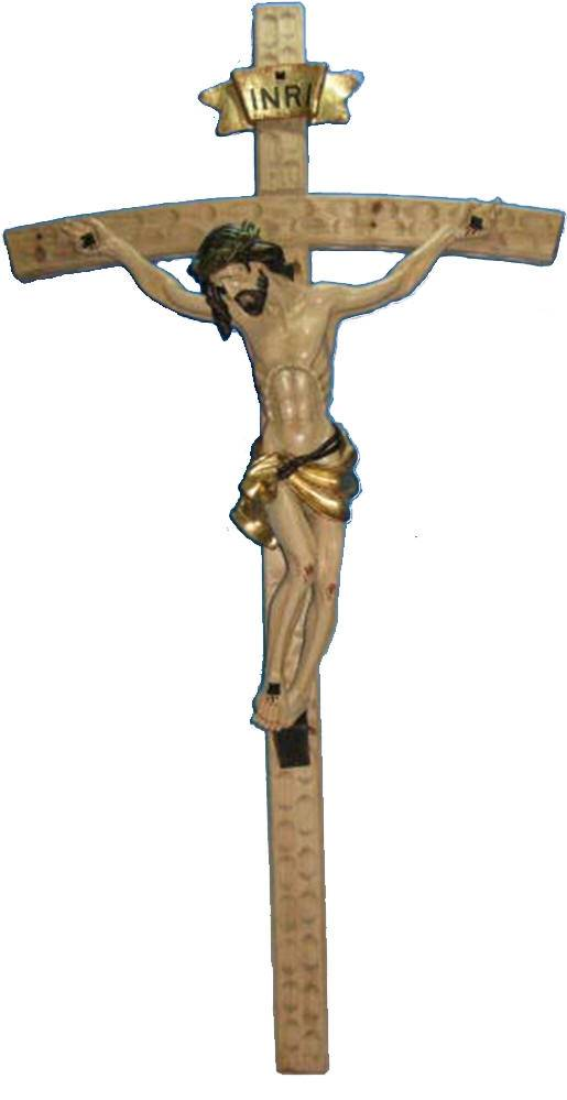 "50"" Wall Crucifix color crucifix, wall cross, wall crucifix, marble corpus, home decor, church decor, wood look crucifix, HL06453A"
