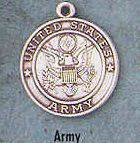 "1"" St. Christopher /Army Medal St. Christopher / Army , Soldiers,Military,army, sterling silver medals, gold filled medals, patron, saints, saint medal, saint pendant, saint necklace, 36402,351"