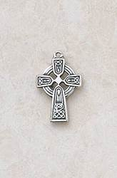 Celtic Cross Pendant first communion cross, cross necklace, holy eucharist necklace, crystal cross, cross with chain, first communion gift,celtic cross, silver celtic cross, celtic necklace