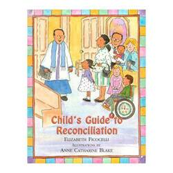 Child%27s Guide To Reconciliation reconciliation book, sacramental book, childs book, colorful book, reconciliation gift, boy gift, girl gift, hardcover book,