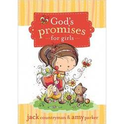 God%27s Promises for Girls verse book, childrens book, bible reference, verse book for kids, sacramental gift, special occasion gift, 9781400315918, 978-1-4003-1-5918