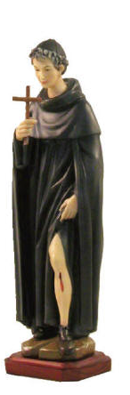 St. Peregrine Statue st peregrin, st peregrin statue, patron of cancer, home decor, church decor, 600/57DC8