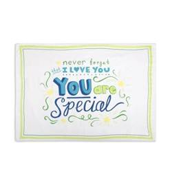 You Are Special Pillowcase you are special, pillow case, pillowcases, child%27s gift, bedding