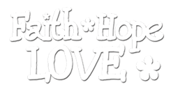 Contour Car Decals-Faith Hope Love car magnet, car nameplate, jesus car decal, car accessories, Auto Accessories