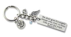 Blessed Keyring key ring, key chain, auto chain, key holder, message key ring, driver gift, message key chain, KR317