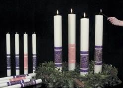 Artisan Wax? Advent Candle Set-3 Purple/1 Rose Artisan Wax™ Advent Candle Set-3 Purple/1 Rose,82382620,82382700,82385520,82385620,82385700,82388520,82388620,82389050,82389060,82389070,82389250,82389260,82389270,82389430,82389450,82389470