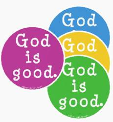 God Is Good Auto Magnets car magnets, religious auto magnets, religious car magnets, car magenets about god, catholic car magnets, catholic auto magnets