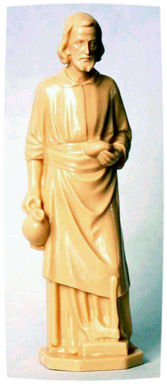 "3.5"" Plastic St. Joseph Statue Plastic St. Joseph Worker Statue, st joe statue, saint joe statue, saint joseph statue, saint statue for selling homes, real estate statue, religious statue for real estate, religious statue for home sales"