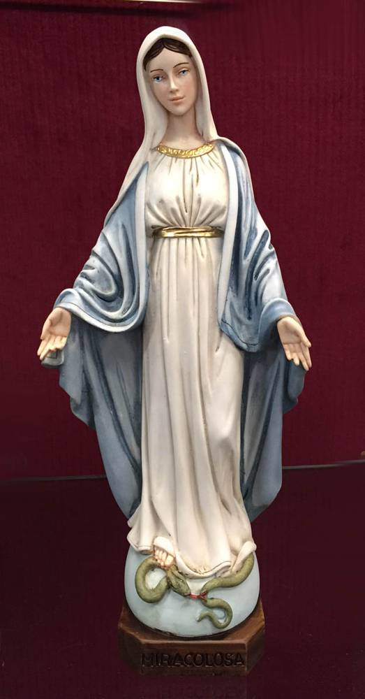 "12"" Our Lady of Grace Statue our lady of grace, mary statue, vatican observatory statue, 4025103, home decor, church decor,"