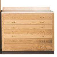 1230 Drawer Base church furniture, church goods, furniture, wood furniture, drawer, chest, 1230