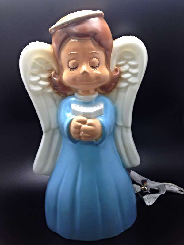 "18"" Lighted Outdoor Angel GF29, GF18, outdoor nativity, indoor nativity, color nativity, christmas gift, christmas decor, yard decor, church gift, church items, nativity angel, lighted nativity, 57037"