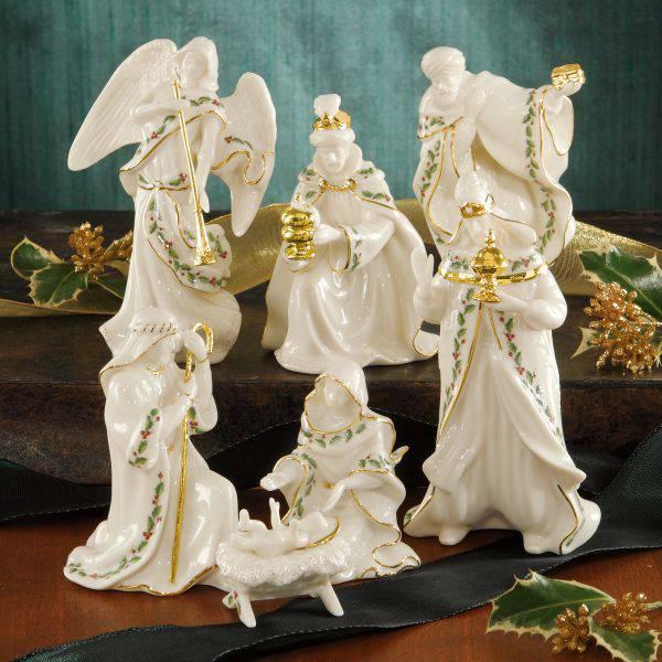 5 Quot Scale Lenox 174 Nativity Set