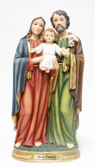 "8"" Holy Family Statue, Heaven%27s Majesty"