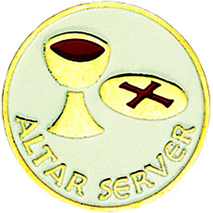 Altar Server Lapel Pin lapel pin, altar server, liturgical pin, 16699