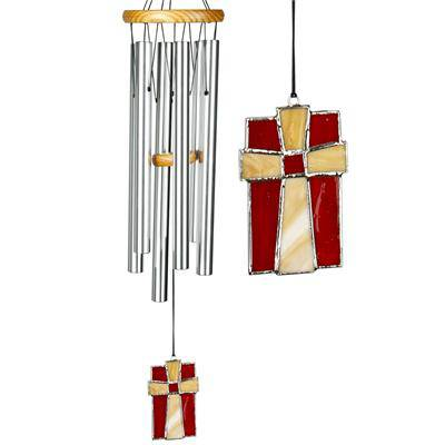 Amazing Grace Chime with Stained Glass wind chime, music chime, outdoor decor, gift, house warming gift, AGS