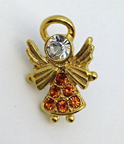 Angel Birthstone Lapel Pin November/6 PK