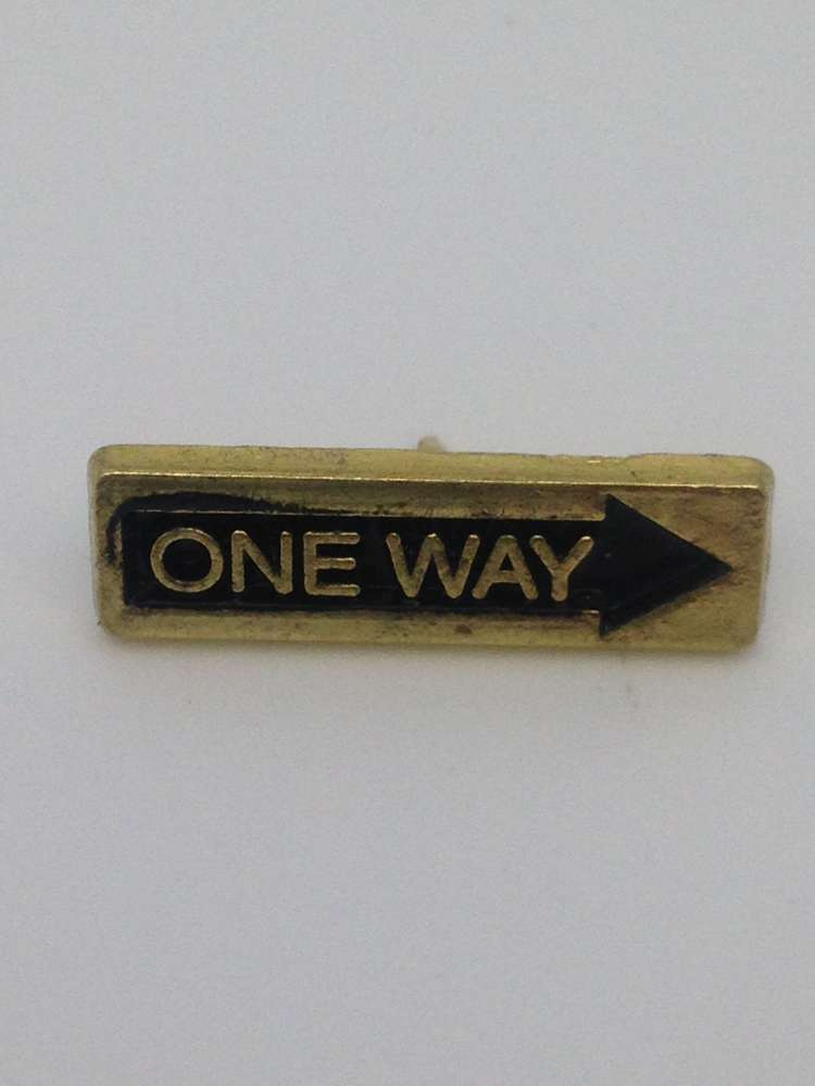 Arrow Up - One Way Lapel Pin/25 pkg
