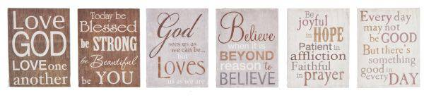 Assorted Sign Magnets magnets, home decor gifts, inspirational gifts, group gifts, retreat gifts, kitchen magnets, office decor, EA14740
